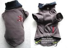 *Hunde Pulli OP Schutzhemd reine Baumwolle Haushemd in grau klkxde