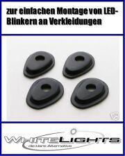 Adapter Adapterplatten LED Blinker Miniblinker Yamaha fairing mounting plates