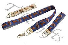 Shar Pei Breed of Dog Matching Lanyard   Keyring Key Ring   Bookmark