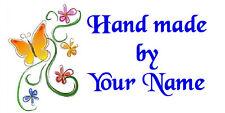 260 etiquetas personalizadas a mano Pegatinas Etiquetas De Dirección Sellos compre 2 lleve 1 Gratis