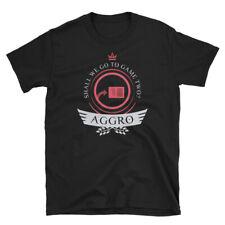 Aggro Life - Magic the Gathering Unisex T-Shirt MTG Archetype Player Gift