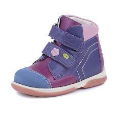Memo KARAT 3JE Pink Leather Girls' Orthopedic Ankle Boots, Toddler/Little Kid