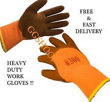 Seguridad Guantes Guantes de trabajo pesado deber agarre extra Guantes de Jardinería cálido y seguridad