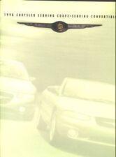 1998 Chrysler Sebring Coupe/Convertible Sales Catalog