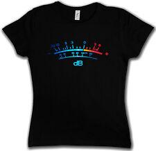 DB Meter II T-Shirt Decibel Music Retro Radio Record Vinyl Stereo Music Studio