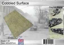 Coastal Kits 1:35 Scale Cobbled Surface Display Base