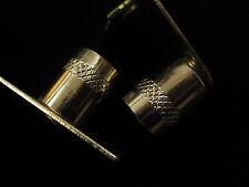 Curtain rod sockets Brackets for 16mm diameter net rods tube in Chrome and brass