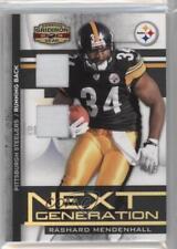 2008 Donruss Gridiron Gear #NG-28 Rashard Mendenhall Pittsburgh Steelers Card