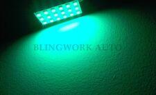 GREEN SMD LED T10 BA9S Dome 31 36 42mm Festoon Universal Car Interior Lights