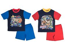 Toy Story Pyjamas Boys Short Pjs Woody Buzz Lightyear Rex Shortie Set Kids Size