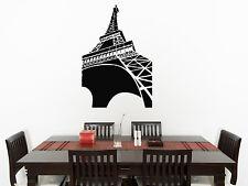 Eiffel Toalla Salón Cocina habitación adhesivo para dormitorio pared imagen 3