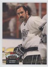 1992-93 Topps Stadium Club #372 Charlie Huddy Los Angeles Kings Hockey Card