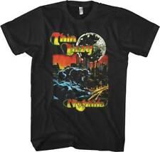 New Thin Lizzy Nightlife Vintage Style Lightweight Shirt (SML-2XL) badhabitmerch