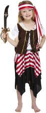 CLEARANCE Girls Buccaneer Pirate  Fancy Dress Costume M/L  Henbrandt