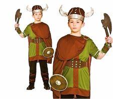 Garçons viking guerrier viking historical saxon enfants déguisement semaine du livre âge 5-10
