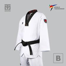 MOOTO BS4.5 Uniform with Black V-Neck Tae Kwon Do TKD Taekwondo WTF Dobok