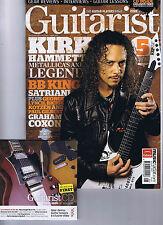 KIRK HAMMETT / METALLICA / BB KINGGuitarist magazine + CDNo.318August2009