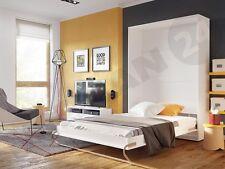 Wandklappbett Concept Pro 120cm Vertical! Funktionsbett Schrankbett Bett - CP-02