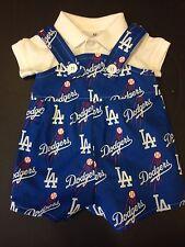 MLB LA Los Angeles Dodgers Baby Infant Toddler Jumper Overalls * YOU PICK SIZE