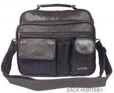 Da Donna Vera Pelle Handbag Organizzatore Spalla Borsa da viaggio in Cowhide 3727