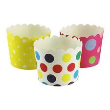 40x Premium duro pequeño Magdalena Cajas! Mini Cupcake Tazas Estuche Lujo Estilo