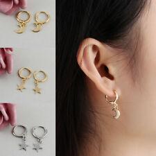 faf16dcce Trendy Star Hoop Earrings Womens Ear Piercing Jewellery Party Wedding  Earring UK