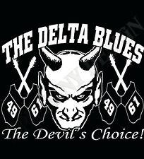 El Delta Blues Camiseta Robert Johnson inspirado Camiseta encrucijada The Blues Usa