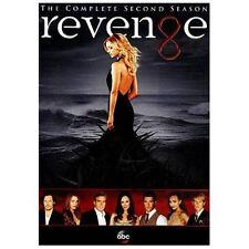 Revenge: The Complete Second Season 2 (DVD, 2013, 5-Disc Set)