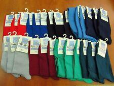 3 x Plain Ankle socks 4-7 in Red,Grey,Royal Blue Adults Men/boy/woman
