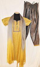 NWT 3pc Pathani Suit Indian/Pakistani Kurta Payjama/Pajama Tunic Bollywood XL