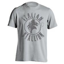Italian Stallion Funny  Rocky  Boxing  Club Gray Men's T-Shirt