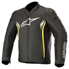 Alpinestars SP-1 V2 Leather Motorbike Motorcycle Jacket Black / Yellow