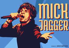 CANVAS Mick Jagger Shakin/' His Money Maker Art Print Poster