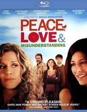 Peace, Love  Misunderstanding (Blu-ray Disc, 2012)