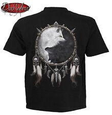 SPIRALE Diretta WOLF chi T-Shirt, Biker / Teschio / Goth / Wolf / native / Yin Yang / alto / Tee