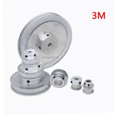 3M 12-140 Zähne Riemenscheibe Zahnrad 12-140T Pulley für 10mm Breite Zahnriemen