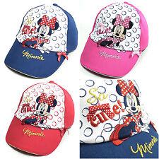 Original Disney MINNIE MOUSE Niños Gorra De Béisbol COMIC Ratón
