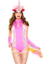 Music legs womens unicorn romper tail costume