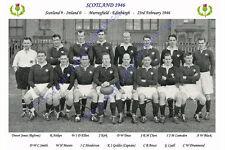 SCOTLAND 1946 (v Ireland, 23rd February) RUGBY TEAM PHOTOGRAPH