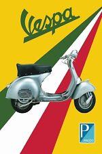 Vespa Piaggio Italy Vintage Retro style Metal Sign, bar, man cave, garage, gift