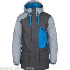 BRAND NEW W/ TAGS O'Neill ANGLED Snowboard Ski Jacket STEEL GREY MEDIUM-2XLARGE