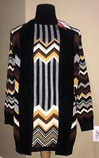 MISSONI for Target 2019 Womens Sweater Dress &Open Zig-Zag Cardigan 2pc set S-XL