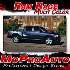 2011 Dodge Ram RAGE Multi-Color Truck Bed 3M Vinyl Graphics Decals Stripes M21