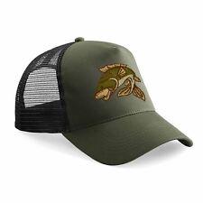 97777b890b Carp Fishing Hat Snapback Baseball Cap Fish Hats Gifts for Men Women