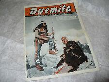 DUEMILA SETTIMANALE DI AVVENTURE N.12 1951 RARA RIVISTA FOTOROMANZI DEL GIORGIO