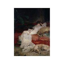 Quadro su Pannello in Legno MDF Georges Clairin Sarah Bernhardt