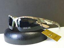 74bc832c409 Mens Sport Wrap Sunglasses Camouflage Pattern Designer Shades W Microfiber  Bag