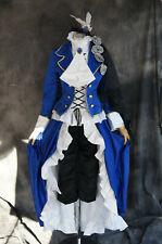 H-014 BLACK BUTLER Kuroshitsuji CIEL COSPLAY Set Anzug Blau Luxus Karneval