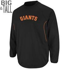 Majestic San Francisco Giants Mens BIG & TALL Authentic Therma Base Tech Fleece