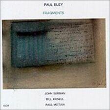 Bley Paul-Fragments CD NEW